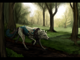Search for an another soul (Speedpaint) by WaliWulf