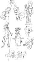 Dutch brony meet 5 - doodles by TheArtrix