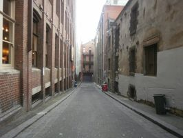 melbourne alley 5 by LuchareStock