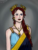 Andromache - sketch by janique-marie