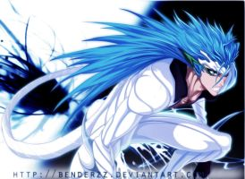 Grimmjow's Ressureccion by benderZz