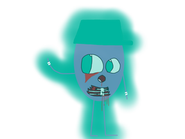 Dumb Ways To Haunt - Dingy by kindraewing