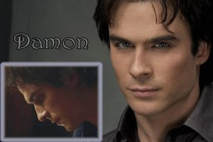 damon salvatore by reven94