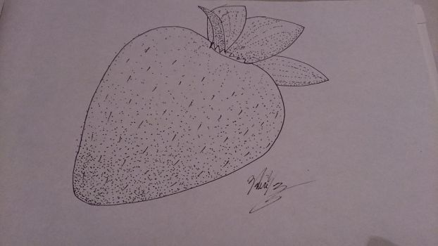 30 Day Art Challenge #2: Day 18 - Pointillism by PikaInABag