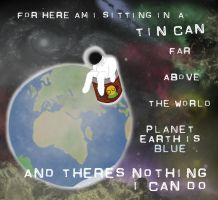 Here am i sitting in a tin can by drwhofreak