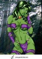Savage Land She Hulk 2 by Mythical-Mommy