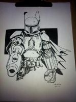 Boba Fett commission by MARR-PHEOS