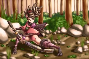 Momohime by T03nemesis