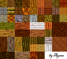 RPG Maker Tiles II by Ayene-chan