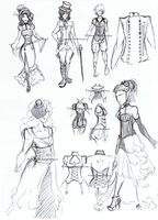 Steampunk - Clothes by Shirusaki