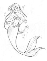 Ariel sketchy by XxUshixX