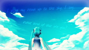 What kind of blue are you? by gcgcfgc