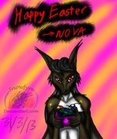 2013: Happy Easter by Snowfyre