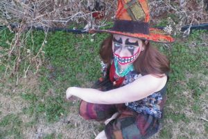 Halloween Costume 2014 in Grass by Daylighter123