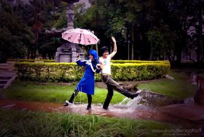 FT Cosplay: dancing on water by SawaKun