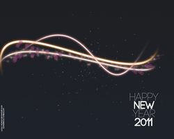 New Year 2011 Minim Wallp. by Lazlo-Moholy