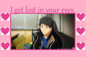 Free! Valentine: Sousuke's Lost by FrozenClaws