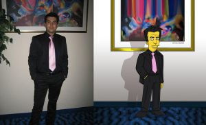 Me simpsons by SimpsonsCameos by carlosp