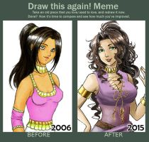 Draw this again - Darshana by Amarevia