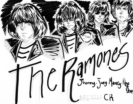 Hey ho let's go - The Ramones by D-MATSUYAMA