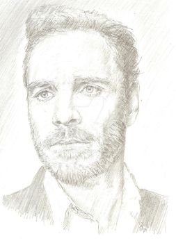 Michael Fassbender by bcstroud