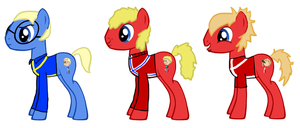 Sweden, Denmark, Norway as MLP by Lomise