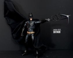 New 52 - Black Batman Grappling Hook by SomethingGerman