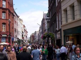 Temple Bar District by BlueHorseShoe