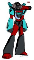 Wheeljack and Perceptor's Son by Scream01