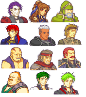 Collection of Fire Emblem Sprites by Sawrock