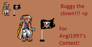 Buggy the Clown by SalTheSpriter