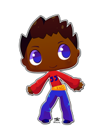 A Cute Numbuh 55 ID by Flame-dragon