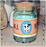 Lon Lon Milk Bottle by tiffanybell