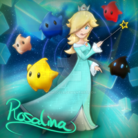 Rosalina and Luma's - With more effects added by tdimodel6