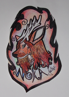 Noka Badge by ShunkaManituTanka