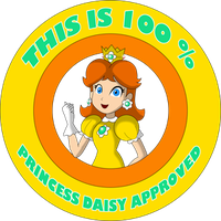 Princess Daisy Approved by ZeFrenchM