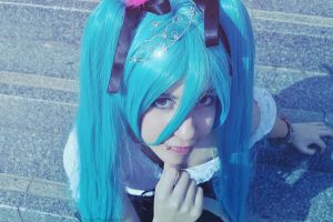 Miku - World Is Mine - Smile by Sora-Phantomhive
