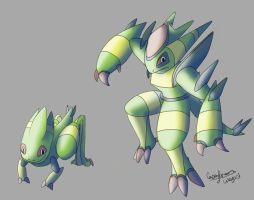 thornket Spineket FAKEMON by Weyard