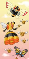 Epic Bug Pokemon Drawing 1