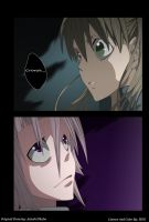 Soul Eater-Maka And Crona by HikariNoGiri