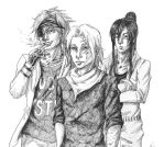 DGM Zombies- The Boys by invisiblepandaSATOME