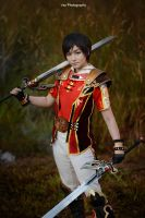 Dynasty Warrior 8 - Lu Xun by vaxzone