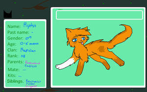WRV - Ryekit of Rainclan by SilverKitti