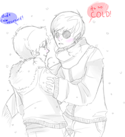 its so damn cold yall by NineTailedIdiot09
