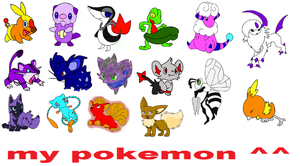 my OC pokemon by shadowxmephiles