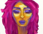 Colourful Portrait by kaylamckay