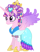 Princess Cadance as the Crystal Princess by 90Sigma