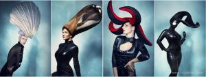 Czech and Slovak Hairdressing Awards - Sea World by luciekout