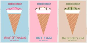 The Cornetto Trilogy by neeann