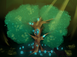 The MoonTree by Nixhil